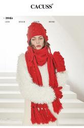Винты с головкой Custome Cacuss высшего качества, шарфы и перчатки