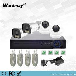 4chs 5MP PoE NVR キットセキュリティシステム HD フルカラー IP カメラ P2P PoE CCTV カメラシステム