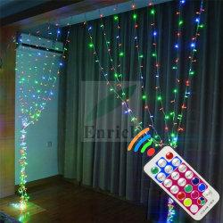 Le rideau de lumière à LED RVB Outdoor Icicle Noël conte de fée de jardin de mariage de lumière chaîne Garland