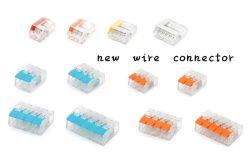 Connecteur universel 3 broches du connecteur de type WAGO