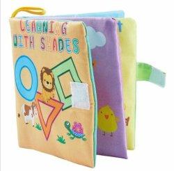 Het zachte Speelgoed van de Voederbak van het Boek van de Doek van de Baby vroeg Onderwijs Pasgeboren 0-36 Maanden