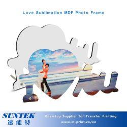 Sublimation-unbelegte doppelte Inneres MDF-Foto-Rahmen