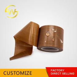 Isolamento térmico de qualidade superior à prova de tecido de Teflon PTFE Antiaderente Fitas Adesivas