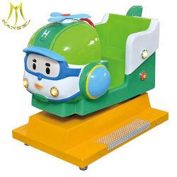 Hansel com moedas Falgas carro do parque de diversões infantil Viagem de Giro
