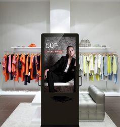 En el suelo cubierto de 43 pulgadas LCD Adversting Pantalla LCD de pantalla integrada en Windows