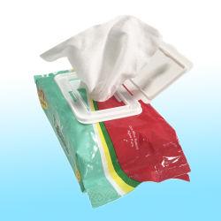 Fabricante OEM de bambu biodegradáveis Non-Woven toalhetes húmidos toalhetes de bebé