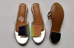 Novo design do calçado para senhora superior clara
