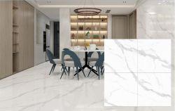 Blanc de Carrare naturel modèle continu 3D Intérieur en céramique Ink-Jet Wall Tile 800x800