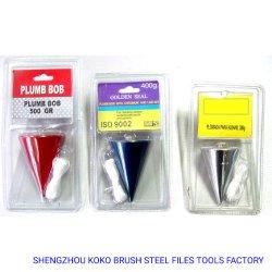 Gekleurd Plumb Bob met Chromium en lijn set