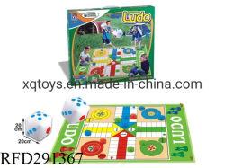 아이 짠것이 아닌 매트 지면 실행 Ludo 게임 장난감