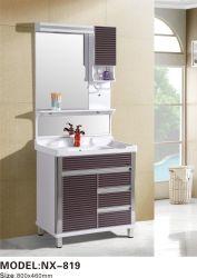 Venta caliente estilo europeo con doble lavamanos tocador cuarto de baño Inicio listo cuarto de baño