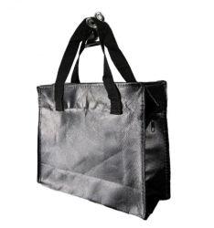 맞춤형 방수 플라스틱 우븐 핸드 쇼핑 백 핸드백