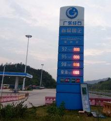 16inch 24inch LED regelmäßiges Gaspreis-Zeichen, Tankstelle, die Schaukasten-kundenspezifische Größe bekanntmacht