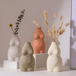 Corps Vase forme femelle, corps en forme de sculpture, mignon Bud Vases, décoration moderne et chic de Boho Accueil, féministe du décor, Booty VASE, VASE Butt