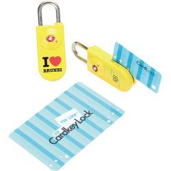 Serratura Keyless di Cardkey Tsa della serratura dei bagagli di corsa approvata Tsa di Ecotrip