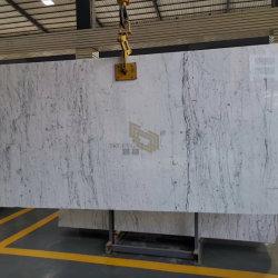 Bianco lajes de mármore Carrara em pavimentações/parede/Bancadas de trabalho/vaidade