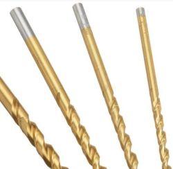 HSSのチタニウムの上塗を施してあるねじれの仲買人の長さ、金属のためにかまれるまっすぐなすねのダイヤモンドの穿孔機