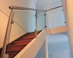 Barandilla de acero inoxidable 304 de la escalera y balcón