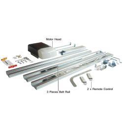 433.92MHz Control remoto universal de la puerta de garaje con dos piezas del operador ferroviario transversal