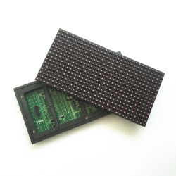 Pixel-Abstand LED-Bildschirmanzeige-Baugruppe der einzelne Farben-rote weiße grün-blaue P10 Baugruppen-32X16