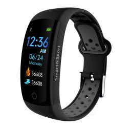 Q6s 0.96 Farbe LCD-Bildschirm-Armband-Berufssport-intelligentes Band IP68 des Zoll-3D imprägniern GPS-Eignung-Aktivitäts-Verfolger-Pedometer
