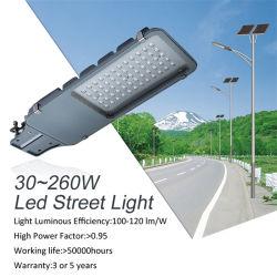 AC220V 5-7anos de garantia elevada Lumens 3000K-6500K de temperatura de cor branca fria de 60 W 120W 200W lâmpada LED de Rua