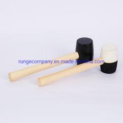 力および手のツールはガラス繊維または木のハンドルが付いている二重表面そりハンマーを造った