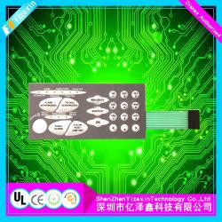 Мембранная клавиатура сборка с плоскими кнопками в Китае панели