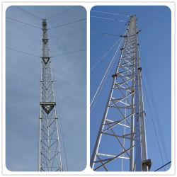 """60 م 80 م 100 م 120 م خفض ساخن مستفز هوائي الصلب اتصال دعم أسلاك الاتصالات اللاسلكية الثلاثية برج الاتصالات اللاسلكية """"غويد ماست"""""""