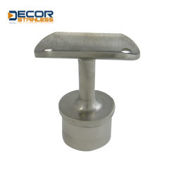 Pasamanos de acero inoxidable para tubo de soporte