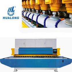 Hualong Hlcm-8e80 zeer efficiënte, eenmalige matrijsslabrand met meerdere koppen Polijsten en profielmachine voor marmer graniet