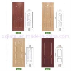 920*2150mm HDF cara de la piel de la puerta de moldeado de melamina