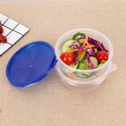 일회용 라운드 런치 박스 플라스틱 음식 용기 보관 BO