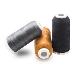 ペーパー管が付いている熱いポリエステル刺繍の糸の糸