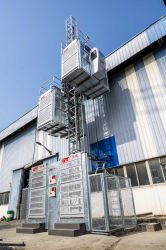 2021 Nuevos Productos de alta calidad de construcción de equipos de construcción ascensor con velocidad regulable