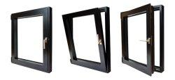 Doppelverglasung-Aluminiumschwingen-Markise Tilt&Turn schiebendes Fenster mit Moskito-Bildschirm