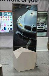 Novo Design de Chão Full HD de ecrã táctil Kiosk ultra elegante piscina 55 polegadas LCD Publicidade