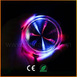 Garrafa de bebida intermitente promocionais Coaster LED acenda Túnel Plástico Coasters para parte