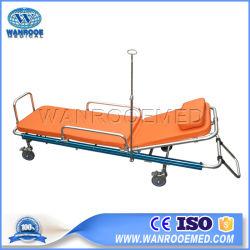 Ea-2c Hospital Manual de primeros auxilios de aleación de aluminio plegado de la carga de la Ambulancia camilla
