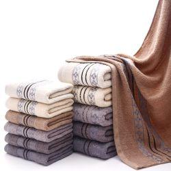 中国の OEM の方法注文 100% 綿の浴室のタオルのスポーツかホテル / 家 / 浴室 / 表面 / 手 / 浜タオル