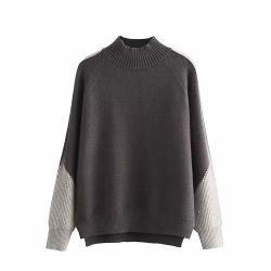 Mistura de lã masculinos personalizados Pullovers