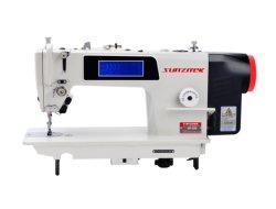 Прямой привод панели сенсорного экрана Lockstitch промышленных швейных машин с автоматический прибор для обрезки нитей и ножного подъемника