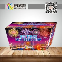 Gfcc30150f-ISM4036-1.2pouce FUEGOS ARTIFICIALES 150tiros 1.4G ONU0336 Fireworks coquilles d'affichage