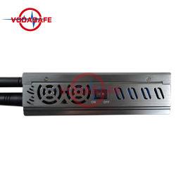 5,8 Ghz a 2,4 Ghz 12 bandas 3G 4G portátil bloqueador Celular 12 mano destructor de las antenas de telefonía celular Disabler