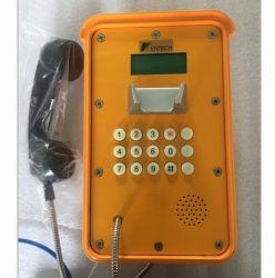 Usine Téléphone industriel Knsp-16 avec écran LCD du téléphone VoIP SIP