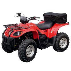 500cc único cilindro, 4 cursos, resfriado a água, Sohc ATV 4X4