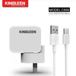 Bouchon de l'ASA Adaptive chargeur rapide USB de type C Kit de recharge rapide (maison chargeur mural + câble USB de type C)