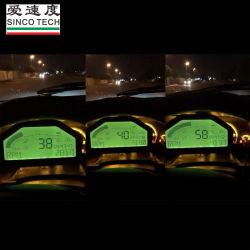 (Fazer904) Medidor de Calibre o ecrã LCD do Painel Mostrador de corrida Dash Kit de Sensor de Bluetooth