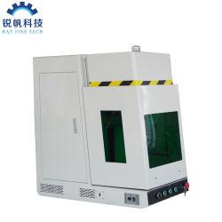 CNC Mopa van de Precisie van de hoge snelheid 60W de Ingesloten Gravure van de Laser van de Vezel/Scherpe Machine voor Aluminium/Metaal/Roestvrij staal/Zilveren/Gouden Blad
