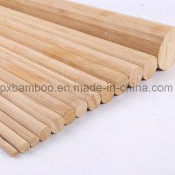 I bastoni rotondi di bambù solidi rotolano in su le tende di bambù dei ciechi con il migliore prezzo